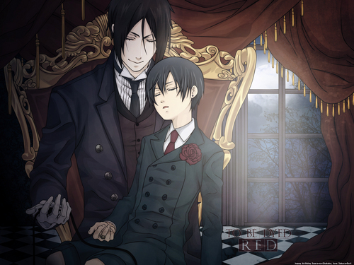 Ciel and Sebastian