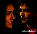Damon&Elena - damon-and-elena-and-ian-and-nina fan art