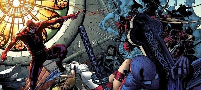 Marvel comics daredevil