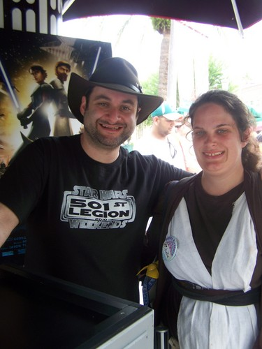 Dave Filoni and me