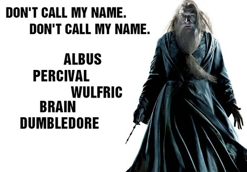 Don't call his name ;)