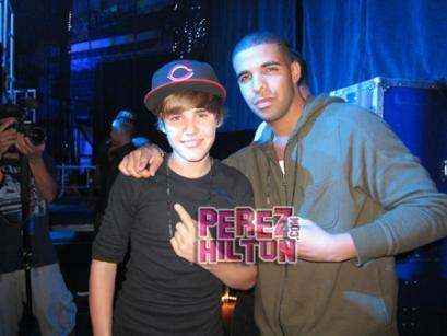 pato, drake Supports The Biebs!