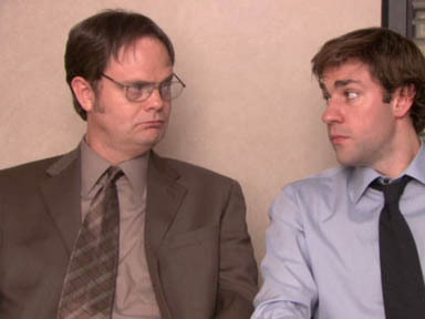 Dwight and Jim