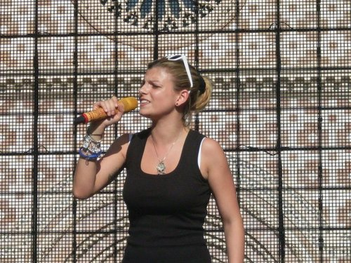 "Emma ""Amici Tour L'Aquila"""