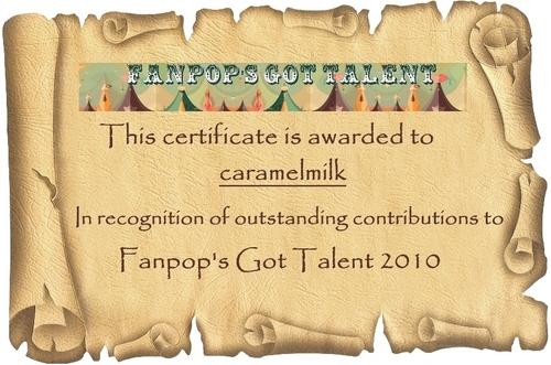 FGT 2010 Certificates – caramelmilk