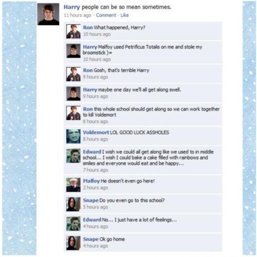 Facebook conversations :D