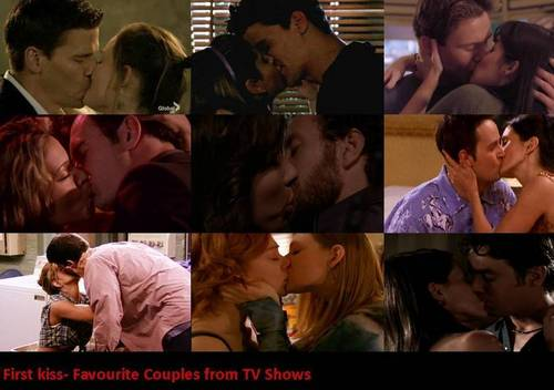First kiss- Bones, BTVS, Charmed and Friends ♥