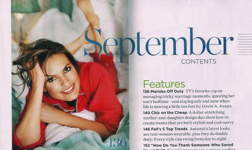 GoodHousekeeping Mag Sept. 2010