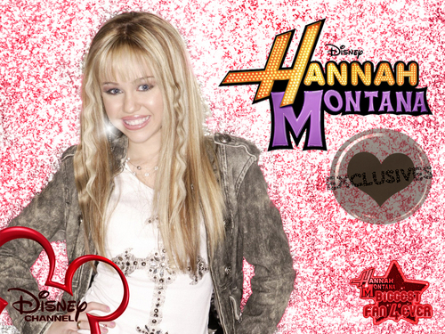Hannah montana season 1EXCLUSIVE fonds d'écran as a part of 100 days of hannah par dj !!!