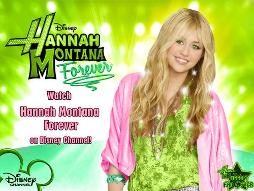 Hannah montana season 4'ever EXCLUSIVE éditer VERSION fonds d'écran as a part of 100 days of hannah!!!