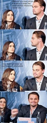 InceptionMemo; Leo and Ellen