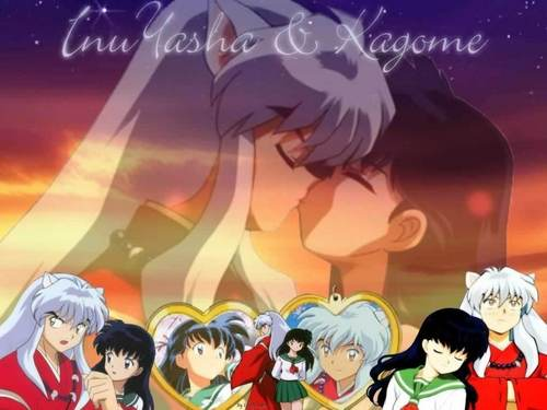 InuYasha and Kagome's upendo Forever