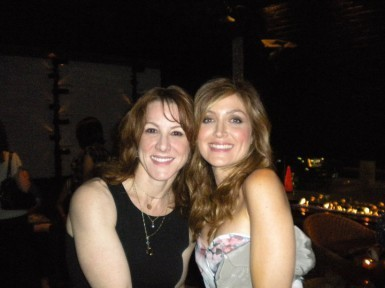 Janet Tamaro & Sasha Alexander @ R&I Press Junket