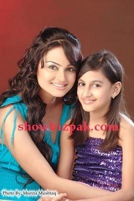 Javeria and Anzeela ( her daughter )