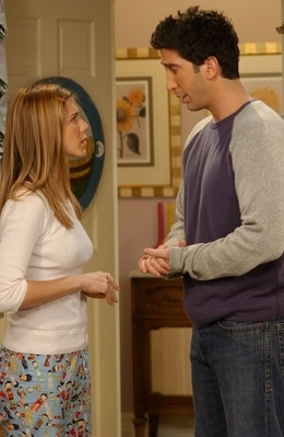 Jennifer as Rachel Green
