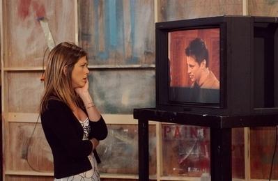 Jennifer as Rachel Green