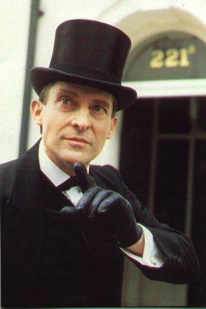 Sherlock Holmes karatasi la kupamba ukuta called Jeremy Brett as Sherlock Holmes