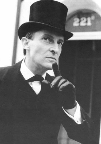 Jeremy Brett as Sherlock Holmes