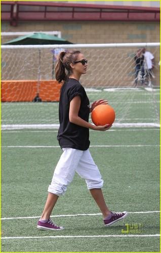 Jessica @ Rising Stars of America All-Star Kickball Game
