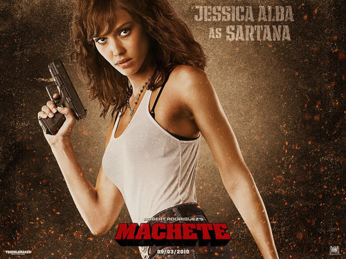 jessica alba wallpaper called Jessica as Sartana