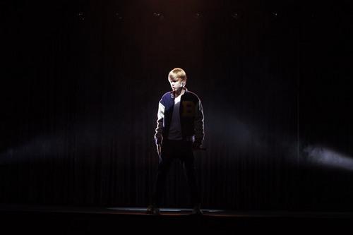 Justin Bieber at the 2010 VMA promo shoot.