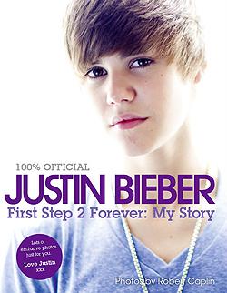 Justin Bieber's book cover