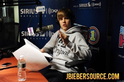 Justin at Sirius XM Radio