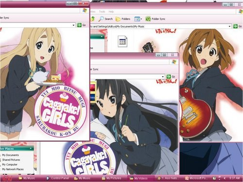 K-On! Desktop!