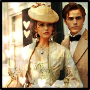 Katherine Pierce and Stefan Salvatore