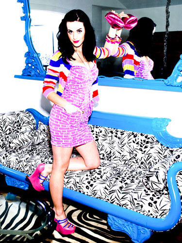 Katy Perry Seventeen Magazine