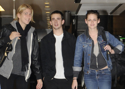 Kristen Stewart with Brother and friend