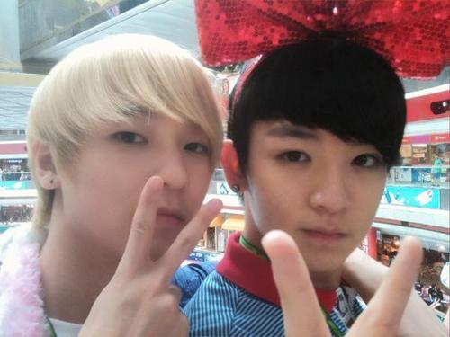 L.joe&ricky TEEN TOP twitter - teen-top Photo