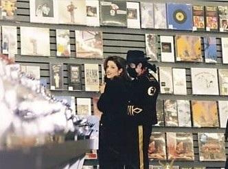 MJ & Lisa Marie Presley Jackson
