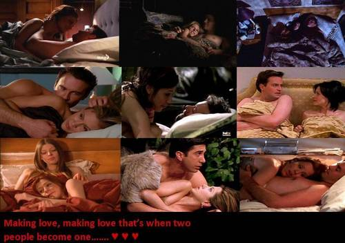 TV-Paare Hintergrund titled Making love..... ♥