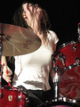 Meg White of The White Stripes - female-rock-musicians photo