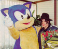 OMG!!! SONIC AND MICHAEL JACKSON!!! - sonic-shadow-and-silver photo