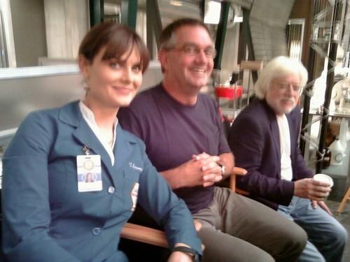 On the set of Season 6