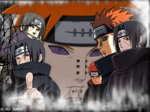 Pain and Itachi