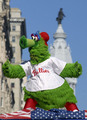 Phillies Win and the Phillies Phanatic - philadelphia-phillies photo