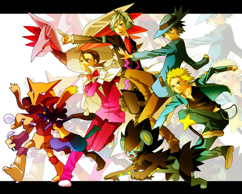 Pokemon Guys wallpaper titled Pokemon Guys!