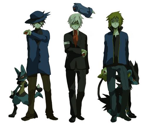 Pokemon Guys 바탕화면 called Pokemon Guys!