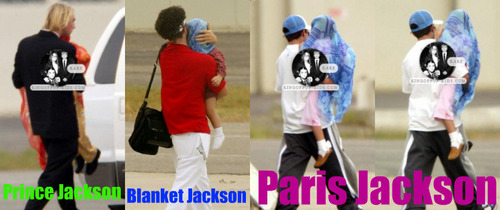 Prince, Blanket and Paris 2003