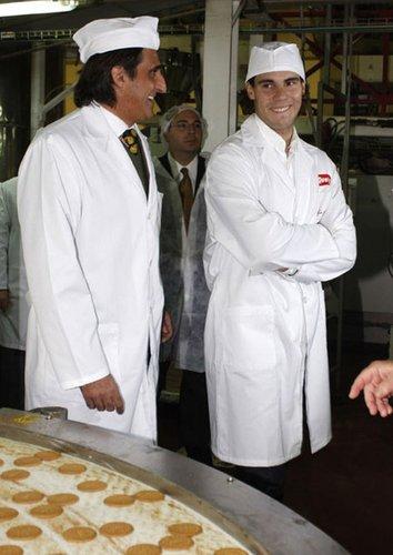 Rafa Nadal as a cook? Never!
