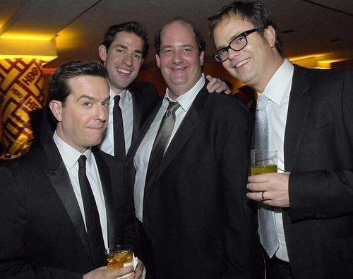 Ed, John, Brian and Rainn
