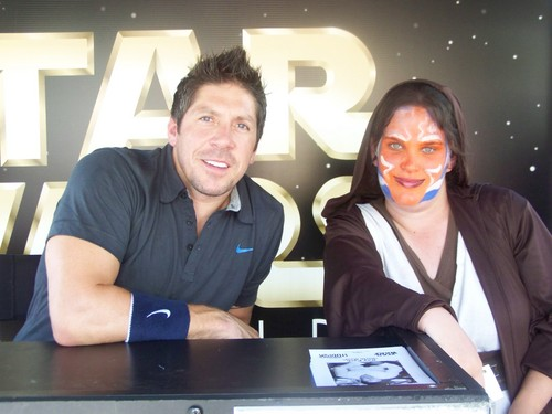 rayo, ray Parks and me at starwars weekends