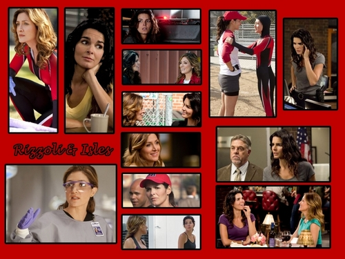 Rizzoli Isles Wallpaper