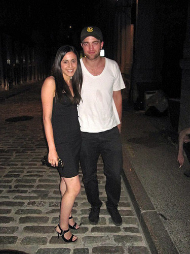 Rob in Montreal with some (lucky) 팬