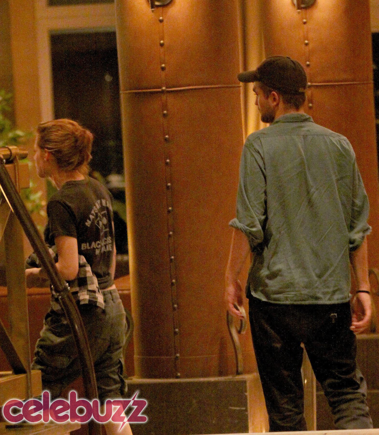 Robert Pattinson and Kristen Stewart in Montreal