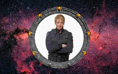 Stargate wallpaper titled Samantha Carter