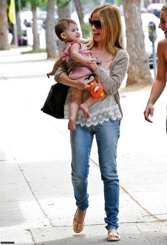 Sarah & charlotte out in Brentwood